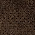 Penny sneaker perforated washed suede chocolate brown