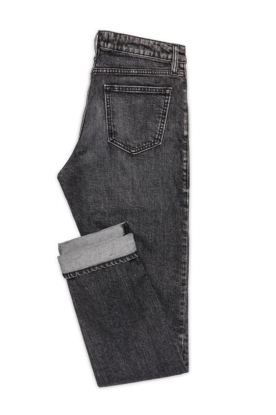 Eco black stretch jeans